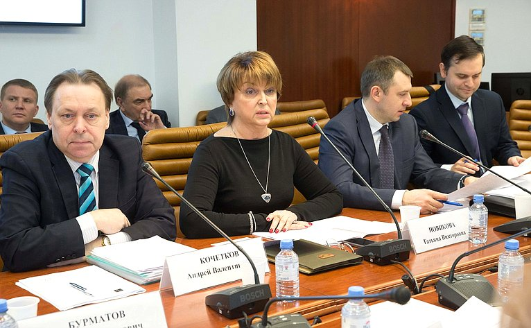 Совместное заседание совета Палаты молодых законодателей иподгруппы позак.обеспечению молодежной политики Госсовета РФ