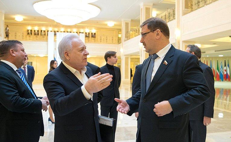 С. Лисицын иК. Косачев