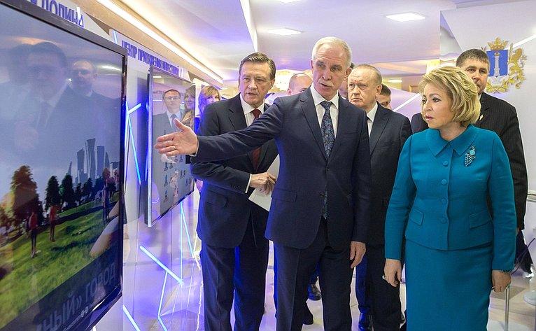 Открытие выставки Ульяновской области вСовете Федерации