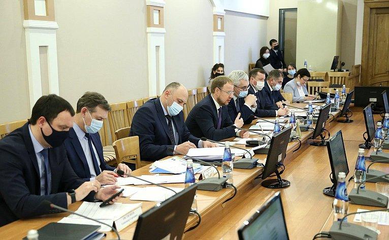 Выездное совещание Комитета СФ поэкономической политике вБарнауле