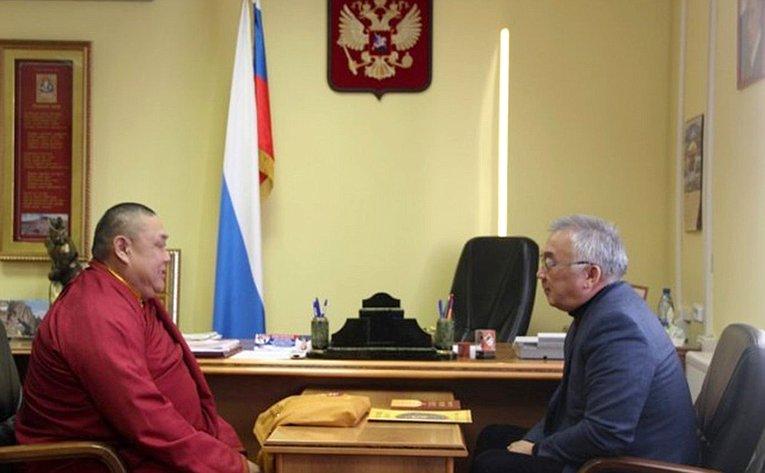 Баир Жамсуев провел личный прием граждан вЗабайкальском крае