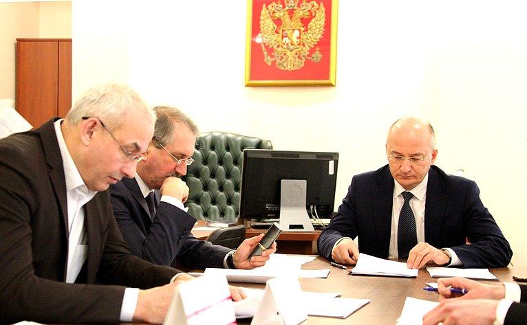 Олег Цепкин обсудил счленами Общественного совета образовательного проекта «Шахматный всеобуч» итоги его реализации в2017г