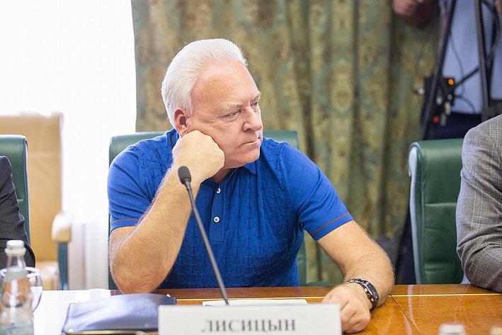 В Совете Федерации состоялось заседание Комитета общественной поддержки жителей Юго-Востока Украины-8 Лисицын