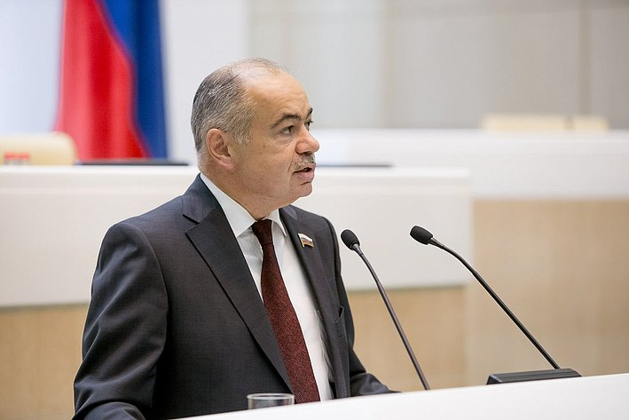 Умаханов 380-е заседание Совета Федерации