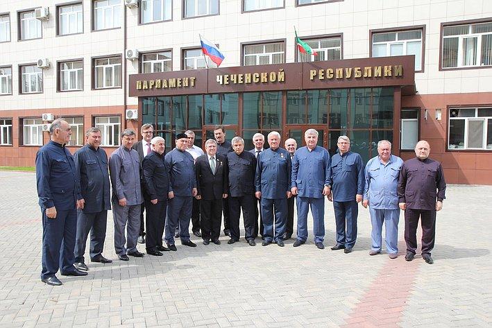 Александр Торшин посетил ЧР 1