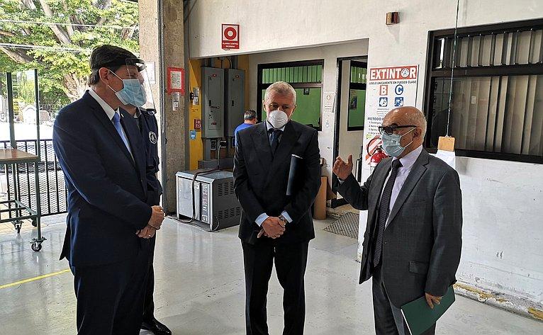 Встолице Коста-Рики г. Сан-Хосе состоялась торжественная церемония передачи российского гуманитарного груза представителям Центральноамериканского парламента
