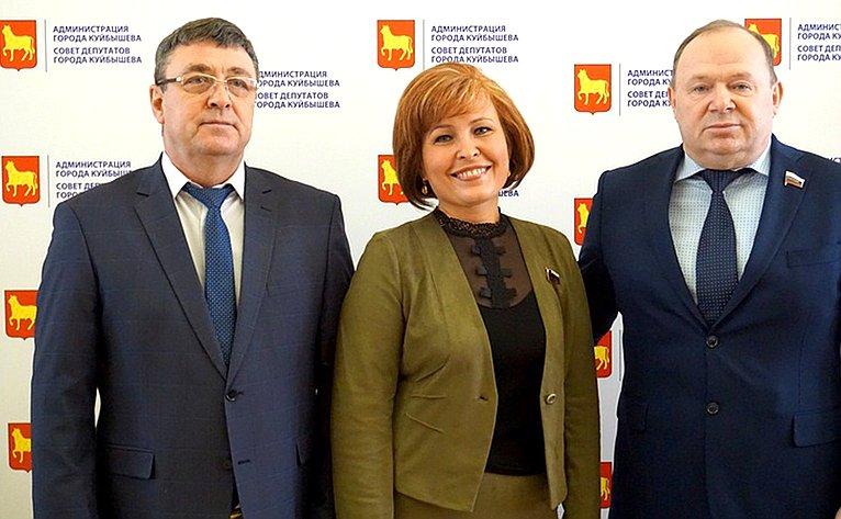 Насобрании представителей трудовых коллективов иобщественности Новосибирской области