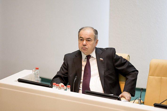 366-е заседание Совета Федерации Умаханов