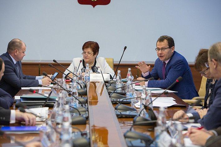 Заседание Экспертного совета по здравоохранению, посвященного совершенствованию медико-социальной помощи людям с нарушениями психического здоровья