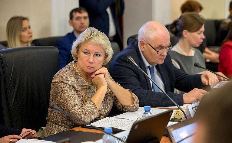 «Круглый стол» Комитета СФ поэкономической политике натему «Повышение уровня доходов многодетных семей как фактор, влияющий наулучшение демографической ситуации встране»