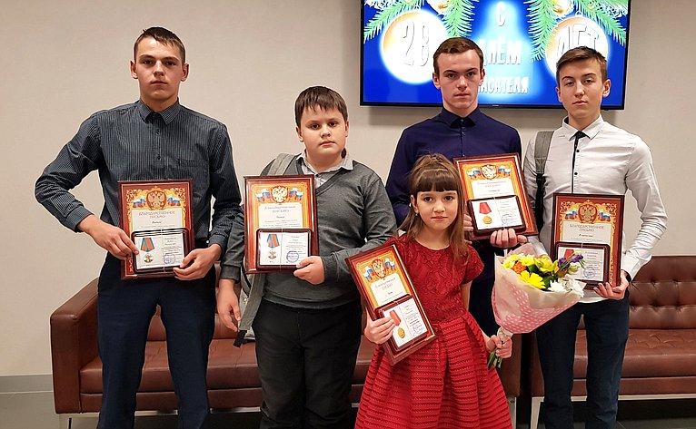 Дети-герои Красноярского края