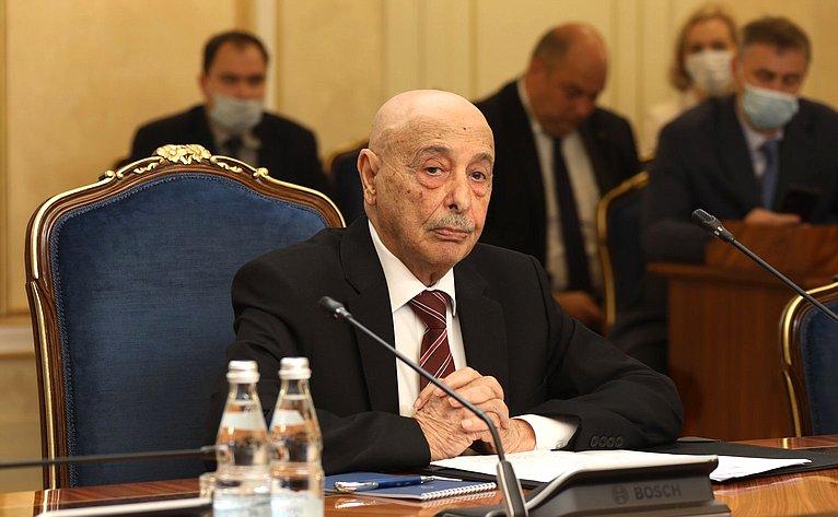 Председатель Палаты депутатов Государства Ливия Агила Салех