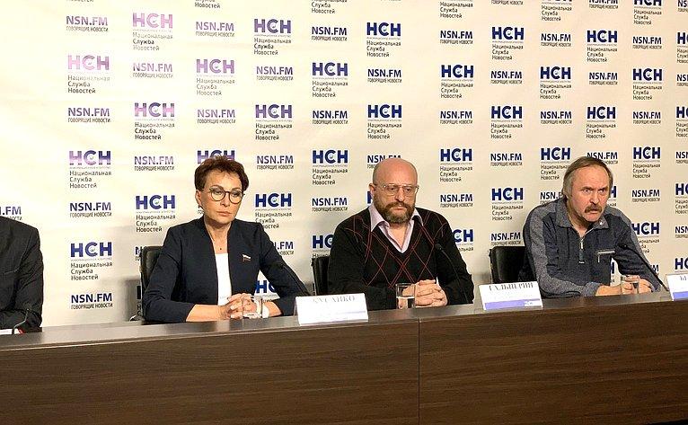 Татьяна Кусайко приняла участие впресс-конференции одефиците медицинских кадров