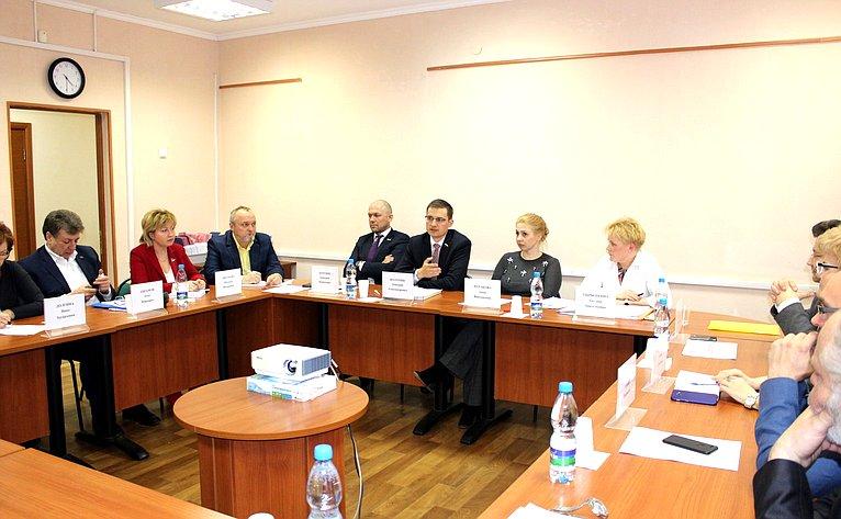 Дмитрий Шатохин принял участие в«круглом столе» натему «Государственно-частное партнерство как способ решения задач обязательного медицинского страхования»