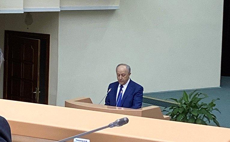Выступление губернатора Саратовской области Валерия Радаева