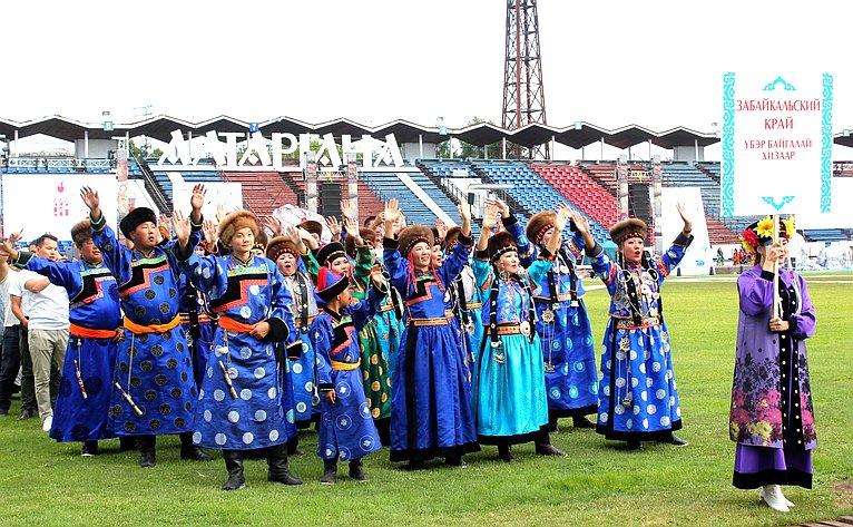 XIII Международный бурятский национальный фестиваль «Алтаргана»