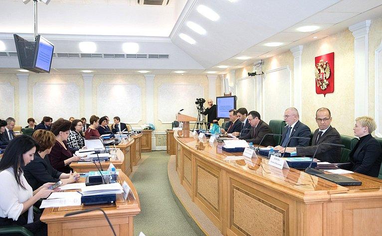 Заседание Совета повзаимодействию синститутами гражданского общества