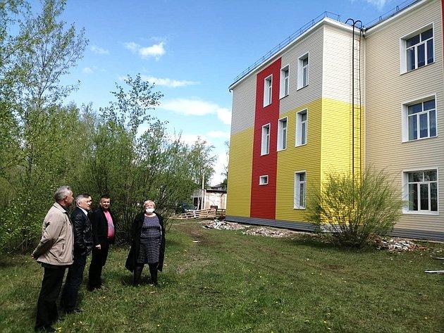 Сергей Михайлов обсудил сруководством Чернышевского района благоустройство муниципалитета