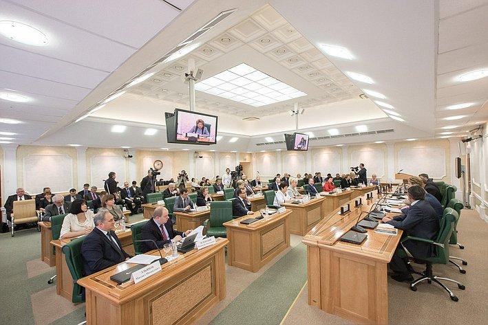 В Совете Федерации прошло заседание Научно-экспертного совета при Председателе СФ на тему «Повышение эффективности системы здравоохранения. Внедрение оценки медицинских технологий»