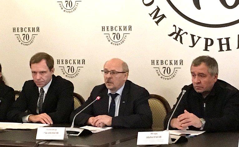 Андрей Кутепов принял участие впресс-конференции, посвященной годовщине теракта впетербургском метрополитене