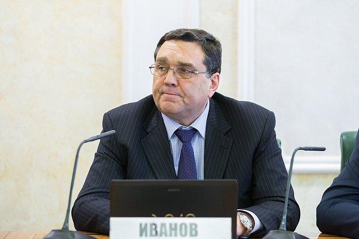 С. Иванов Заседание Комитета СФ по бюджету и финансовым рынкам