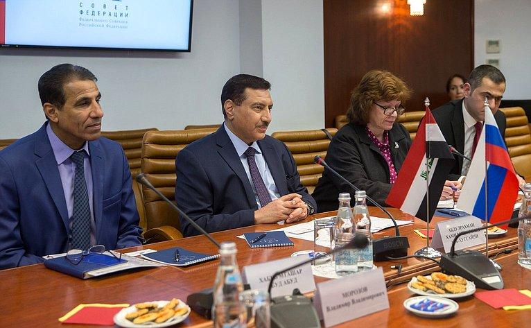 Встреча Л. Гумеровой сЧрезвычайным иПолномочным Послом Республики Ирак вРФ Абдулрахманом Хамидом Мохаммедом Аль-Хуссайни