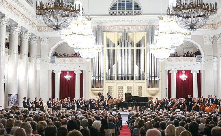 Председатель СФ приняла участие вторжественных мероприятиях вСанкт-Петербурге послучаю 100-летия содня рождения Даниила Гранина