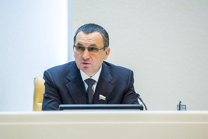 Н. Федоров. 385-е заседание Совета Федерации
