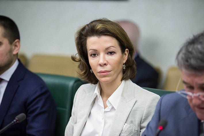 В. Крашенинникова Заседание Комитета общественной поддержки жителей Юго-Востока Украины