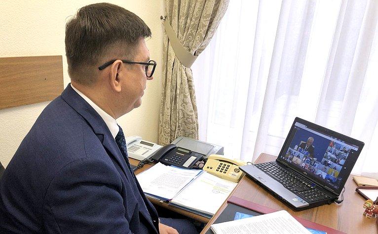 Виктор Смирнов принял участие вцеремонии открытия Годов российско-китайского научно-технического иинновационного сотрудничества