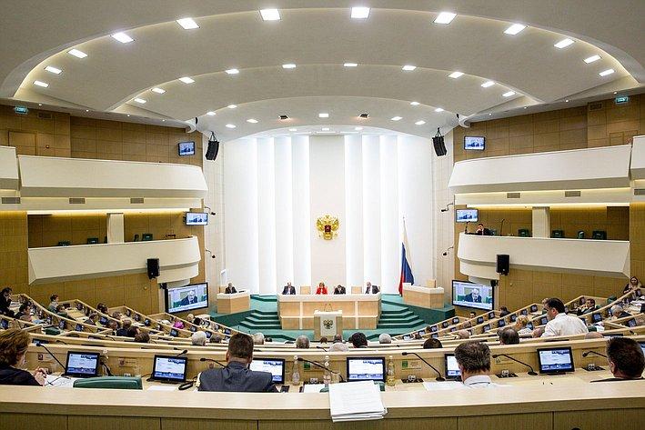 353 заседание СФ зал