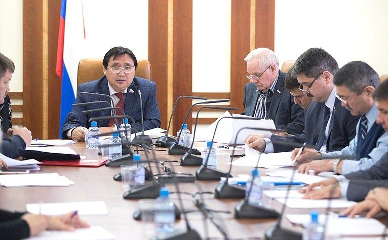 Заседание рабочей группы повопросам совершенствования законодательства РФ оправах коренных малочисленных народов Севера, Сибири иДальнего Востока