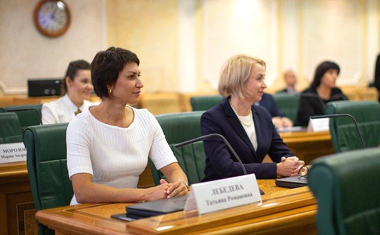 Татьяна Лебедева иИрина Гехт