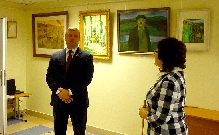 Алексей Кондратьев встретился сучителями ивоспитанниками Бондарской средней школы