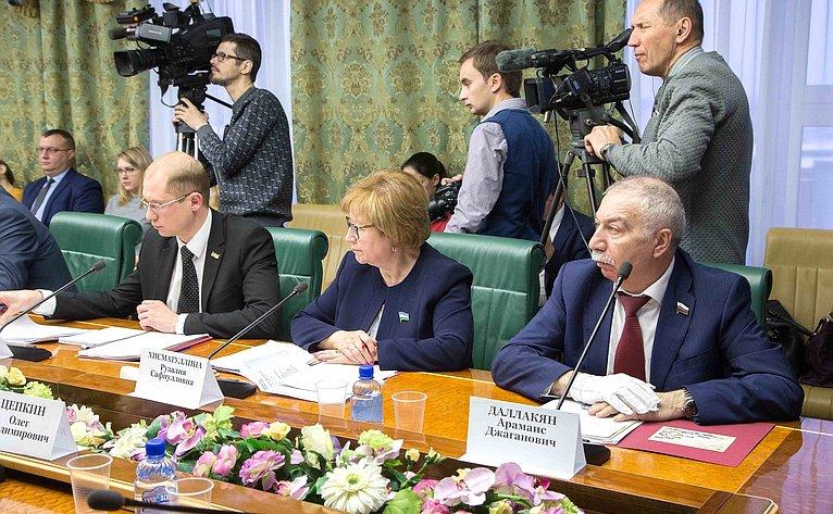 «Круглый стол» натему «Инициативное бюджетирование как важный фактор социально-экономического развития субъектов РФ»