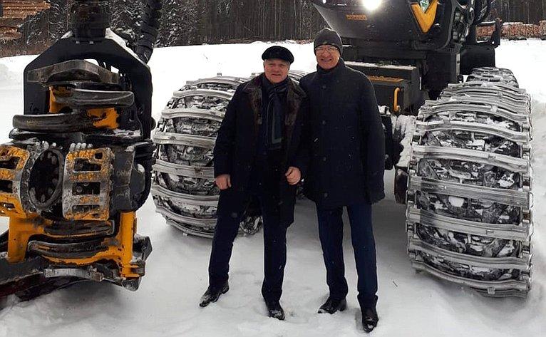 Сергей Брилка принял участие вработе выездного заседания рабочей группы посовершенствованию лесного законодательства