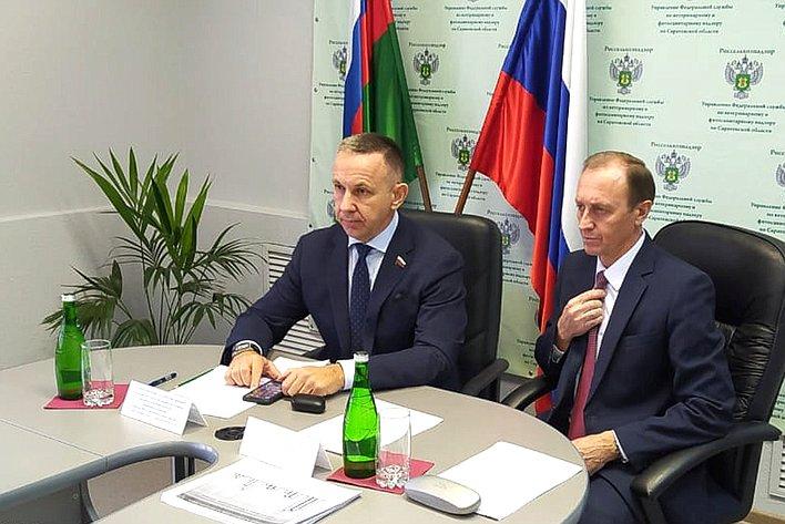 Олег Алексеев принял участие взаседании Коллегии Россельхознадзора