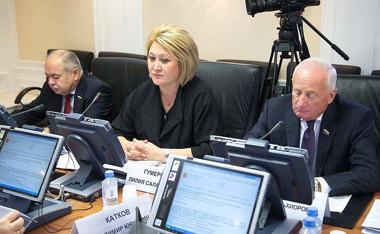 Ильяс Умаханов, Лилия Гумерова иВиктор Кресс
