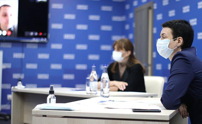 Ирина Рукавишникова провела очередной прием граждан винтерактивном формате