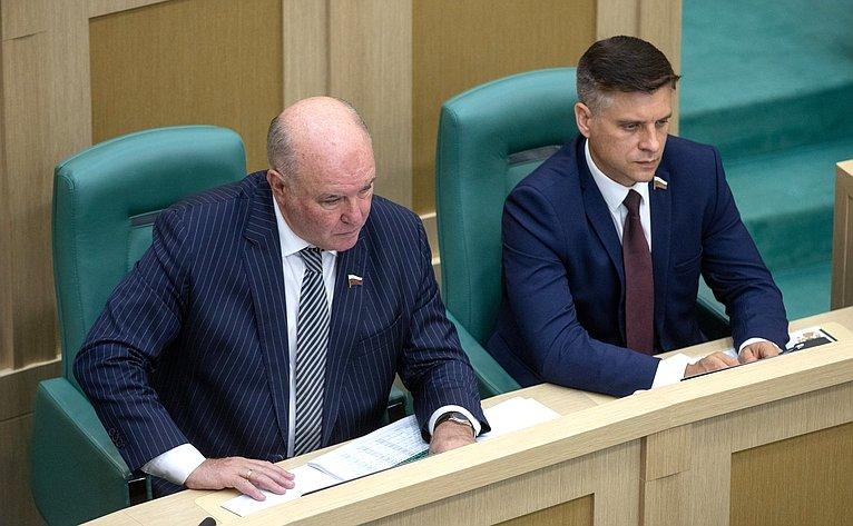 Григорий Карасин иЮрий Архаров