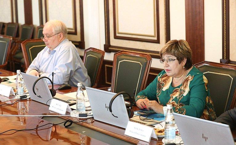 Участие сенаторов РФ в3 части очередной сессии ПАСЕ 2021г