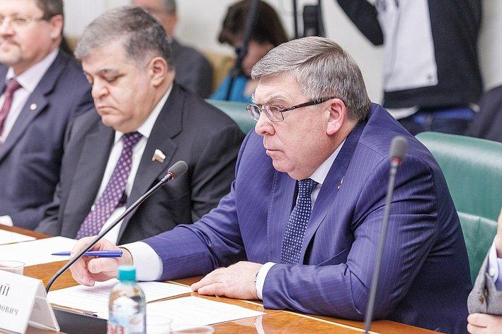 В Совете Федерации состоялось заседание Комитета общественной поддержки жителей Юго-Востока Украины Рязанский