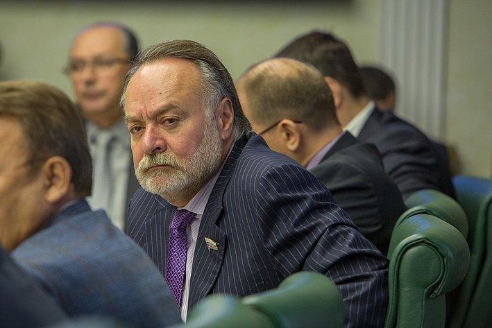 А. Тотоонов Заседание Комитета общественной поддержки жителей Юго-Востока Украины