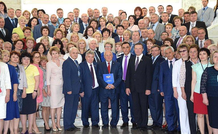 Сергей Рябухин принял участие вработе XVI Всероссийской конференции Союза муниципальных контрольно-счетных органов, которая прошла вУльяновске