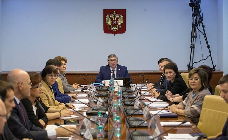 Расширенное заседание Комитета СФ посоциальной политике сучастием представителей Воронежской области