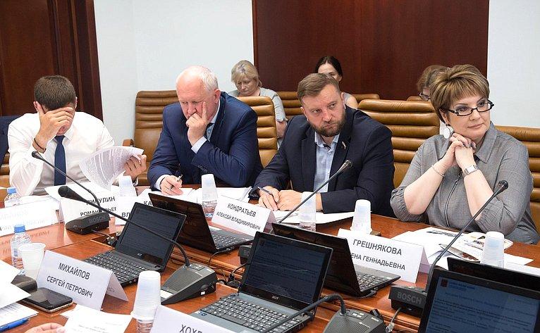 Расширенное заседание Комитета Совета Федерации понауке, образованию икультуре натему «Опроблемах всферах образования икультуры Рязанской области вконтексте реализации национальных проектов»