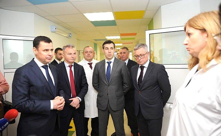 Игорь Каграманян принял участие воткрытии педиатрического отделения Центральной городской больницы Ярославля после капитального ремонта