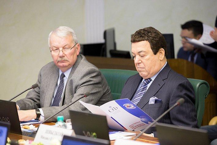 И. Кобзон Заседание Интеграционного клуба