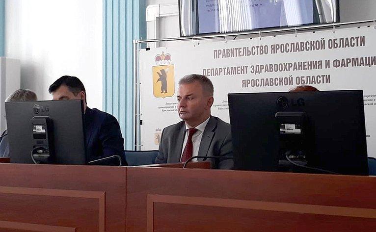Игорь Каграманян принял участие взаседании коллегии департамента здравоохранения ифармации правительства региона