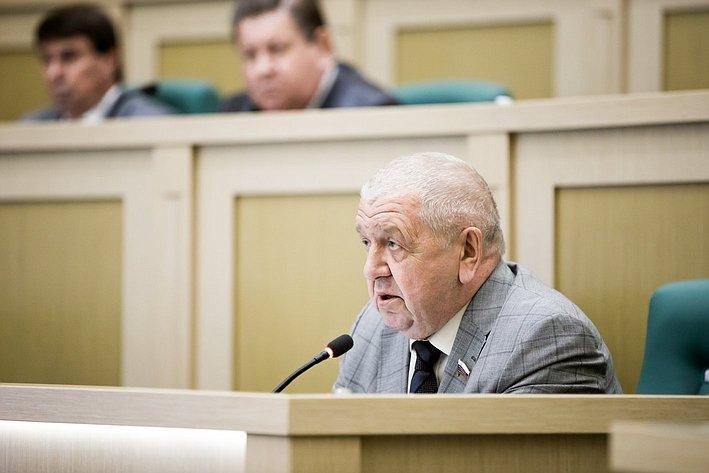 356 заседание СФ Федоров